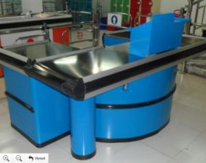 Competitive Price Supermarket Cashier Desk for Checkout pictures & photos