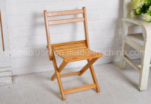 Bamboo Wood Folding Dining Chairs Modern Children Chairs (M-X2507) pictures & photos