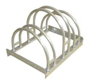 Hot-Dipped Galvanised Bike Rack pictures & photos