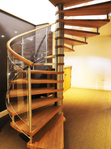 Factory Custom Indoor Spiral Staircase Used Spiral Staircase pictures & photos