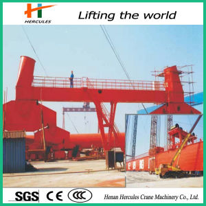 China Manufacture Single Jib Portal Crane pictures & photos
