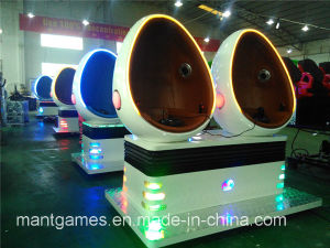 Funny Amusement Park 5D 7D 9d Egg Vr Cinema Single Seat Simulator Equipment 2016 pictures & photos