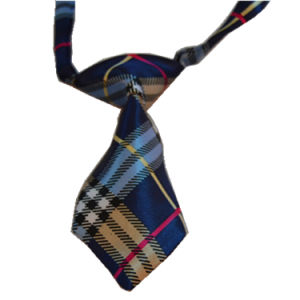 Factory Price Lovely Printed Polyester Necktie Pet Accessories Dog Tie pictures & photos