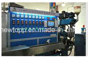PE Foam-Skin Chemical Foaming Cable Extrusion Line pictures & photos