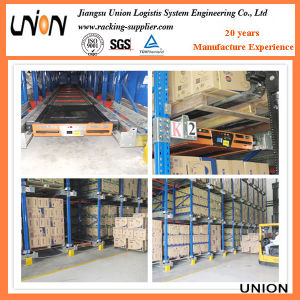 Radio Shuttle Pallet Racking System for Warehouse pictures & photos