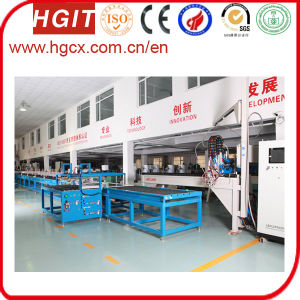 Sandwich Panel Spray Gluing Production Line pictures & photos