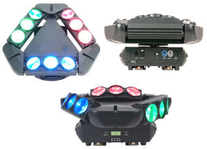 RGBW LED Spider Light pictures & photos