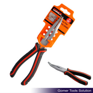 Bent Nose Plier with Good Quality (T03028-G)