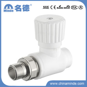 PPR 180 Radiator Stop Valve for Building Materials pictures & photos
