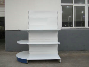 Yd-S6 High Quality Supermarket Display Rack with Round Metal Stand and CE Certification pictures & photos