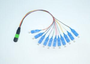 MPO/MTP-Sc 12 Colour Ribbon Fiber Optic Cable pictures & photos