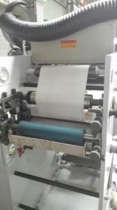 Flexo Printing Machine with Two Die Cutting Station pictures & photos