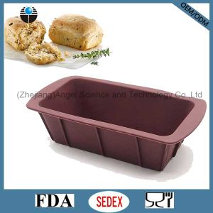 Hot Sale Square Silicone Loaf Pan Cake Mold Sc38