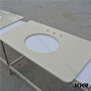 Wholesale Customized Solid Surface Bathroom Vanity pictures & photos