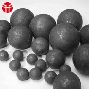 75mm High Hardness Forged Grinding Steel Ball for Mining pictures & photos