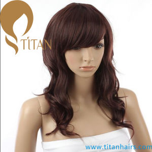 Wavy Remy Human Hair Wig for Woman pictures & photos
