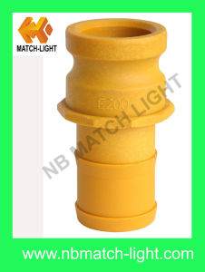 Injection Molding Nylon Grooved Plastic Camlock Fittings Adapter Type E pictures & photos
