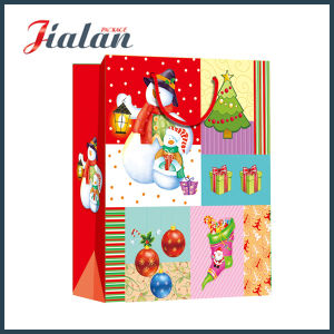 One Side Coated Christmas Shopping Bag pictures & photos