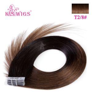 European Tape on Hair Extension Human Hair pictures & photos