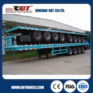 Obt Brand China Top Quality Flatbed Container Semi Trailers pictures & photos