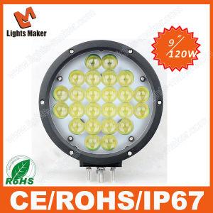 LED Spot Light 4D 120W Powerful Aluminium Magnetic LED Flashlight with Work Light