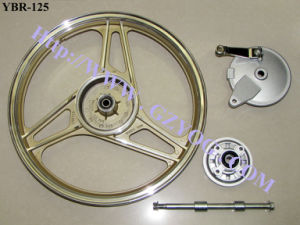 Yog YAMAHA Engine Motor Bike Cycle Spare Parts Ybr 125 Ybr-125 Rear Front Aluminum Rim Cock Assy Fuel Cylinder Kit Piston Gasket Ring Side Stand Brake Shoe Tank pictures & photos