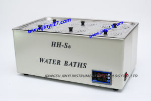 Hh-S6 Six Holes Laboratory Water Bath, Waterbath pictures & photos