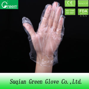 Transparent Disposable Food Handling Gloves pictures & photos