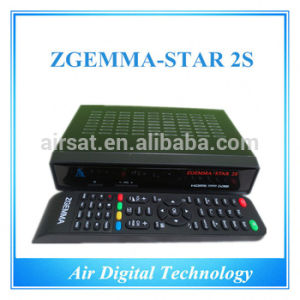 Twin Tuner DVB-S2 Zgemma-Star 2s Enigma2 Linux OS Full HD Satellite Receiver Hot Sell pictures & photos