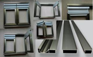 Popular Aluminium Profile for Cabinet pictures & photos