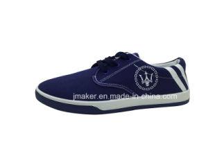 China Wholesale Classic Men′s Canvas Shoe (J2501-M) pictures & photos