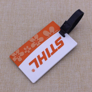 Customized Brand Logo Luggage Tags in Plastic pictures & photos