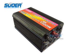 Suoer 1500W 12V 220V Car Inverter with Charger (HDA-1500C) pictures & photos