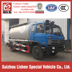 Left Hand Drive Diesel Engine Type Bulk Cement Transport Truck pictures & photos