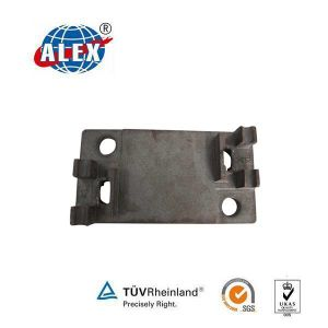 Plain Oiled Baseplate Provided by Railway Parts Supplier