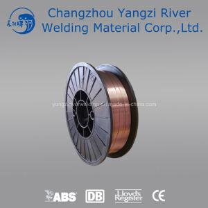 En G3si1 CO2 Copper Welding Wire 0.8mm with Plastic Spool