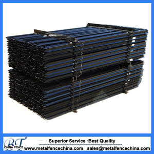 Black Bitumen Painted Metal Steel Y Star Picket pictures & photos