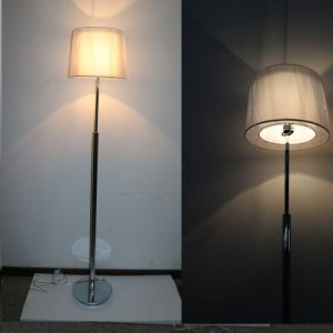 White Fabric Shade Floor Lamp with Simple Design pictures & photos