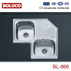 Stainless Steel Kitchen Sink (BL-866) pictures & photos