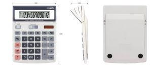 12 Digits Dual Power Adjustable Screen Desktop Calculator (CA1215) pictures & photos