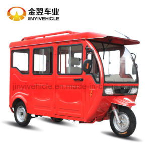 Electric Closed Cagro Tricycle Cargo Car pictures & photos