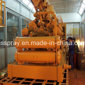 Customized Non-Standard Spray Paint Booth for Heavy Duty Truck pictures & photos