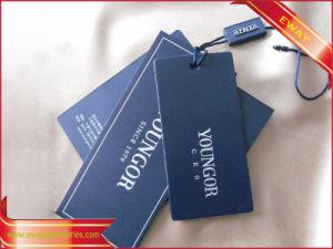 Men Clothing Hang Tag Plastic Hang Tag Printed Tag pictures & photos