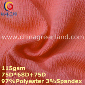 Polyester Spandex Chiffon Plain Fabric for Woman Dress (GLLML358) pictures & photos