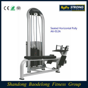 Hot Sale Body Building Gym Traine Seated Horizontal Pully/ Low Row A6-012A pictures & photos