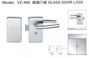 Yz-905 Su304 Stainless Steel Glass Door Lock pictures & photos