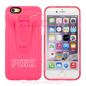 Customized Hard Mobile Phone Case for iPhone 6/6plus with Holder pictures & photos