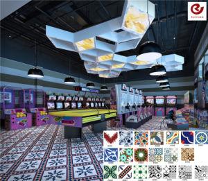 china flower patterned ceramic floor tile/wall tile for bar