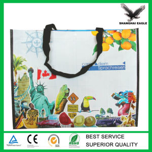 Europe Standard Laminated PP Woven Promotion Bag pictures & photos