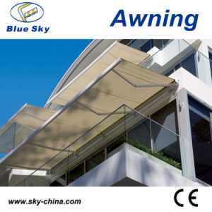 Popular Remote Control Polyester Retractable Awning (B4100) pictures & photos